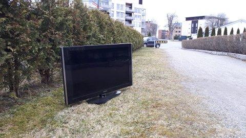 Noen som er fristet til å ta med seg en tv på tur?