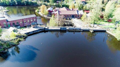 Dammen ved Ørjefossen står foran en større ombygging om noen år.