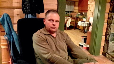 SKUFFET: Kai Vidar Nikolaisen ble skuffet da han så hva som hadde skjedd ved turhytta i Fjella.