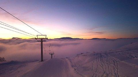 SOGN SKISENTER: Ein nydleg dag i vente i Heggmyrane. (Foto: Runar Tørvi)