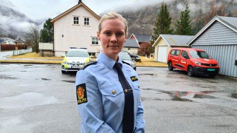 BLIR LEIAR: Marit Breistøl (30) frå Borgund i Lærdal var ein av tre søkjarar til stillinga som tenestestadsleiar for Årdal, Lærdal og Aurland. Den stillinga fekk ho.