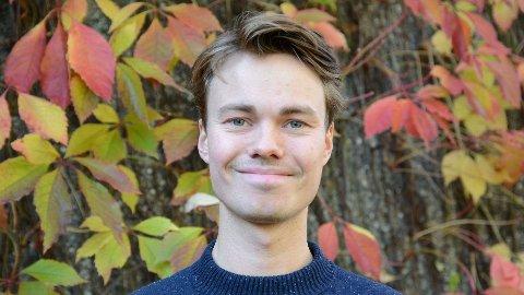 NY JOBB: Kennet Dvergedal (26) frå Årdal gler seg til å ta fatt på sin nye jobb frå 1. juni.
