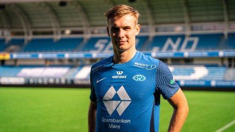 LUKRATIV: Sogndal kan smila heile vegen til banken etter salet av Sivert Mannsverk (19) til Molde. Overgangen har ei totalramme på nær 20 millionar kroner.