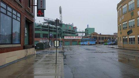 Det er som regel finere vær i Boston enn dette. Her fra artikkelforfatters egen tur i mars 2016.