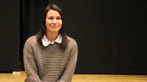 Bodil Tørresdal fokuserer på at det er elevenes valg når hun skal veilede ungdommene til å velge en karrierevei.