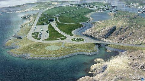 Det skal bygges 3480 meter med ettløpstunnel med en helning på 7 prosent, 1635 meter med vei i dagen og tre bruer på Kvitsøy i første trinn av Rogfast-prosjektet.