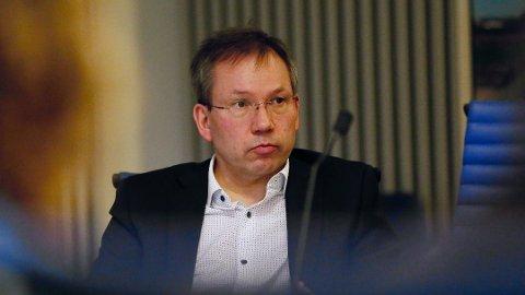 Administrerende direktør Trond Juvik i Ferde på et av møtene i styringsgruppen for Bymiljøpakken i november 2018.