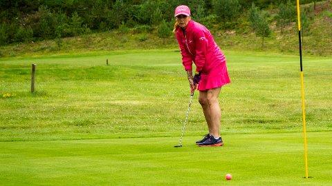 OVERRASKET: Ingrid Andreasen så ikke for seg å få så mye til kreft- og brystkreftforeningen.