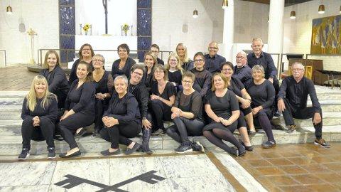 Steinkjer Gospelkor inviterer til jubileumskonsert i Steinkjer kirke.