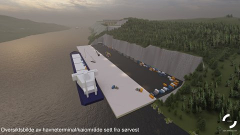 STORE PLANER: Det ble laget store planer for en batterifabrikk på Bartnes. Næringsapparatet i kommunen har fortsatt tro på at det kan etableres grønt næringsliv i Steinkjer.