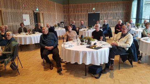 Forrige uke inviterte Steinkjer seniorforum andre seniorforum til Steinkjer samfunnshus.