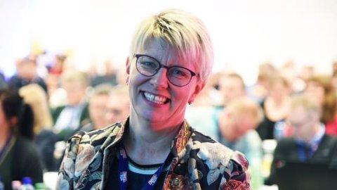 Marit Haugen ble gjenvalgt som styreleder under årsmøtet i TINE.