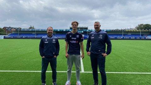 Isak Aalberg er nå Kristiansund-spiller.