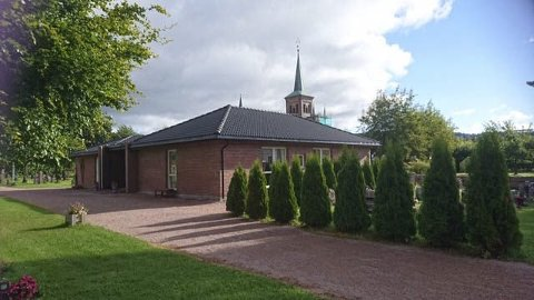 Kirkestua: I kveld er det temakveld i Kirkestua i Svelvik. Foto  privat
