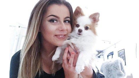 Mari Adele Mandt (26) innrømmer at hun har gjort Lucah bortskjemt hjemme.