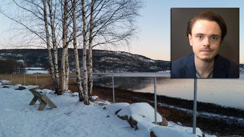 STØTTER TILTAKET: Herman Ekle Lund (MDG) mener hensynet til naturvern må ha absolutt forrang. Derfor støtter han Fylkesmannen, som nå har satt opp gjerde på Bokerøya for å skjerme artene i naturreservatet.