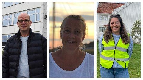 FAU-ledere ved skolene i gamle Svelvik kommume, (f.v) Erik Petterson, Anja Lønseth og Lill-Ann Desireé Llorca Cruz Heier.