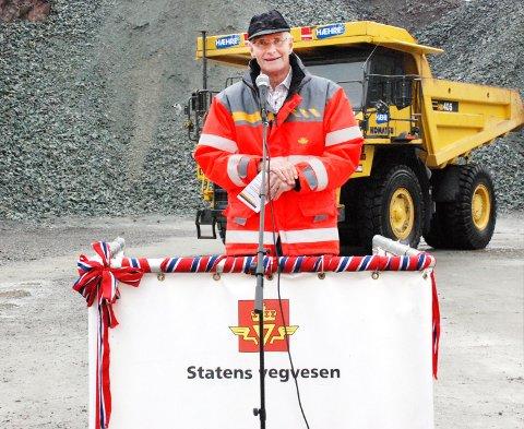 NY STAMVEI: Får tidligere veisjef i Statens vegvesen, Stein Fyksen det som han ønsker, så vil E134 gjennom Telemark, med nye strekninger, blir den nye stamveien mellom øst og vest. I januar kommer trolig konklusjonen fra et regjeringsoppnevnt utvalg om det samme temaet.