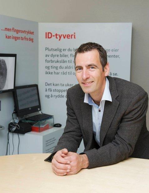 Christian Meyer er prosjektleder for ID-tyveriprosjektet.  Foto: Frende/ANB