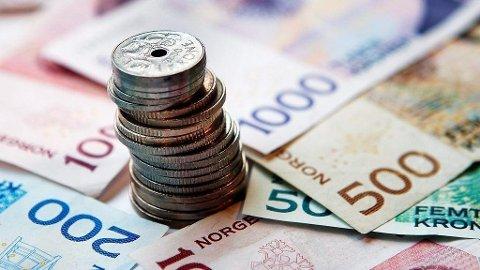 Den aller høyeste skatten du kan betale på en lønnsinntekt er 47,2 prosent. Foto: Kallestad, Gorm (SCANPIX)