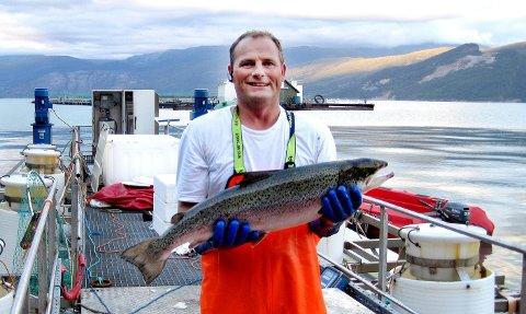 EN DRØM: I 15 år har Rune Maabø arbeidet med livsdrømmen: Å konstruere et lukket fiskeoppdrettsanlegg. FOTO: PRIVAT