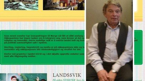 «Innvandringen til Norge har nå fått et slikt omfang at det er å betrakte som en okkupasjon ... Derfor må grasrota i landet trå til og i det skjulte opprette enheter som på alle nivåer kan motarbeide okkupasjonen med alle tilgjengelig midler.», heter det på nettsiden Milorg 2 som Oddbjørn Jonstad (innfeldt) står bak.