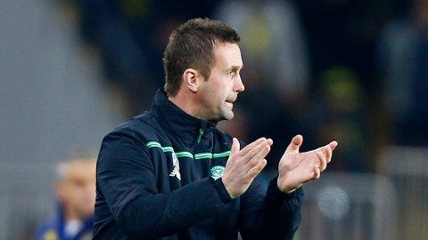 VIL SLÅ TILBAKE: Etter en svak periode, ønsker Ronny Deila nå å få sving på sakene igjen i Celtic. Foto: Osman Orsal (Reuters / NTB scanpix)