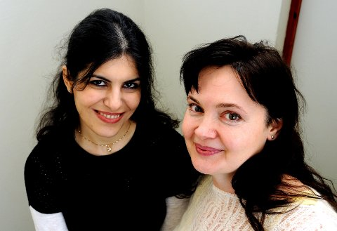 OPTIMISTISKE: Lillian Kased (32) og Olga Debaltovckaya (44) har begge stor tro på at Navs prosjekt skal gi dem større muligheter til å skaffe fast jobb. foto: ørjan madsen