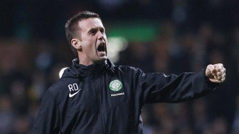 TØFT PROGRAM: Ronny Deila og Celtic har et tett kampprogram i vente.