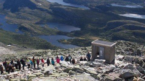 Om lag 80 000 mennesker besøker toppen hvert år, og det er et sterkt behov for å bygge et skikkelig toalettanlegg for turgåerne. Frem til nå har en luftig utedo vært eneste mulighet for trengdende på toppen.