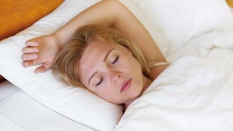 God søvnkvalitet er viktig for helsa. (Foto: Colourbox)