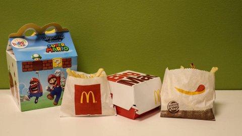 ASTFOOD-GIGANTENE Burger King og McDonald's bruker miljøskadelige stoffer i emballasje. Foto: Hanne Gustavsen (Framtiden i våre hender)