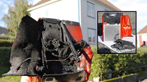 48 radioer har begynt å brenne så langt, og rundt 10.000 farlige eksisterer fortsatt i norske hjem.  Foto: Pinell