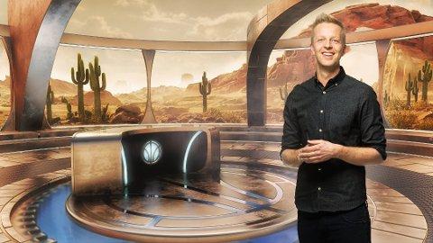 Fridtjof Nilsen er programleder for Lost in Time. (Foto: TVNorge)