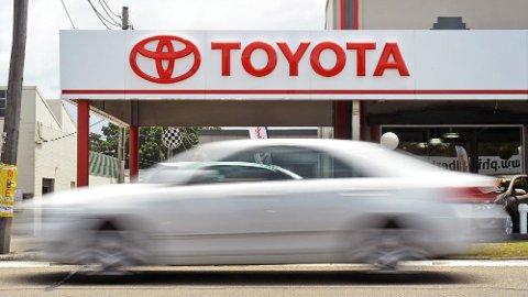 Potensielle feil på airbagene, produsert av Tata, gjør at Toyota må kalle tilbake 2,9 millioner biler på verdensbasis. Foto: WILLIAM WEST