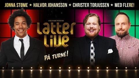 """FORDEL: Nå kan du se """"Latter Live"""" på Ibsenhuset til en rabattert pris ved bruk av TA-kortet."""