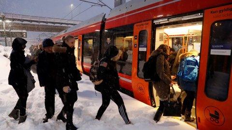 Det kan bli jernbanestreik fra 27. februar. Foto: Terje Bendiksby, NTB scanpix/ANB