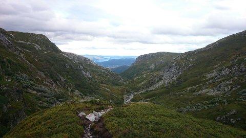 – MÅ BEVARES: Daglig leder i DNT Telemark, Jon Atle Holmberg, vil ikke ha vindmøller i noen av Telemarks fjellområder. Her et bilde fra Lifjell.