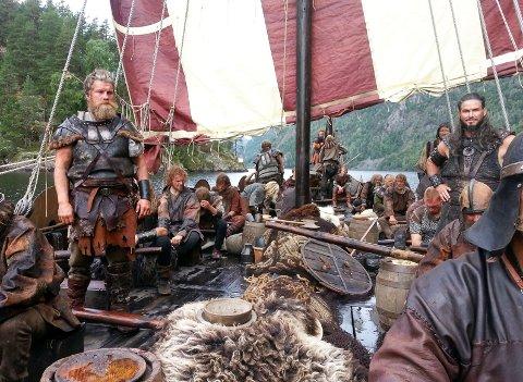 INVASJON: I sommer blir det vikinginvasjon langs Telemarkskanalen. Det er planlagt en ukes vikingfestival for å markere sammenslåingen av Vestfold og Telemark.