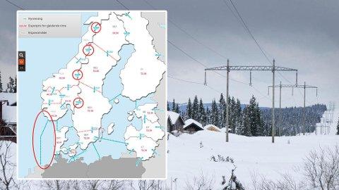 Mens strømprisene Norge er på rekordnivåer, sender Norge strømmen rett til utlandet. Spesielt går kablene til Nederland for full kapasitetsutnyttelse. (Scanpix / Statnett)