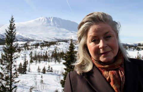 FORNØYD: Ane Johnsen, administrerende direktør for Gaustablikk skisenter er svæt fornøyd etter tidenes beste påske.