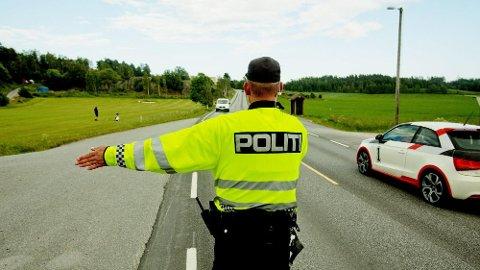 RUTINEKONTROLL: 41-åringen ble stanset i en rutinekontroll på E134.