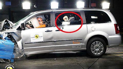 Hva slags bil du sitter i kan ha mye å si hvis ulykken er ute. Nyere biler er generelt mye sikrere enn eldre, de har også mer sikkerhetsutstyr som både kan avverge ulykker og minimere skadene hvis de først skjer. Foto: Euro NCAP.
