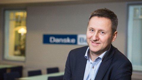 Sjeføkonom Frank Jullum i Danske Bank tror Norges Bank kan kline til med en renteøkning allerede i mars neste år.