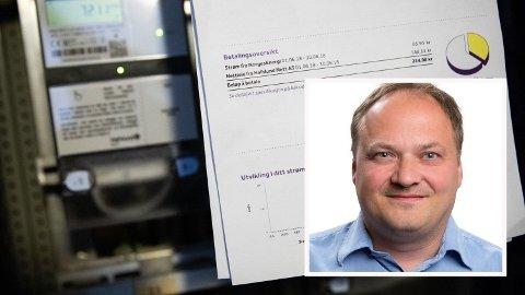INGEN STOR NEDGANG: Analysesjef Tor Reier Lilleholt i Watts Insight tror ikke på lavere strømpriser fremover. Foto: (Watts Insight)