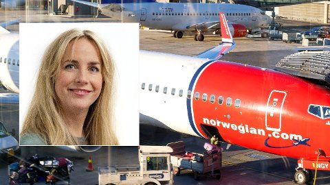 NYE REGLER: Norwegian justerer bagasjereglene etter massiv kritikk fra kundene, opplyser Tonje Næss. Foto: NTB Scanpix / Norwegian