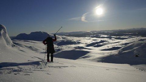 VÆRET: Hvis du har vinterferie, kan du nyte sol og behagelige temperaturer utover uken. Foto: Erik Johansen (NTB scanpix)