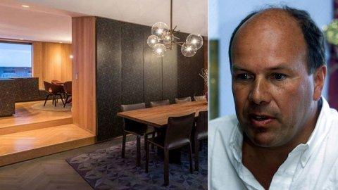 Andreas Ove Ugland kjøper Einar Aas' hytte i Nissedal i Telemark.  Foto: THT Foto / Terje Bendiksby / SCANPIX