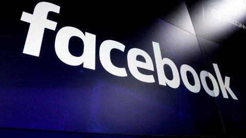 NEDE: Brukerer over hele verden rapporterer om at Facebook er nede. Foto: (AP/NTB scanpix)