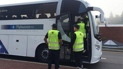 Statens vegvesens kontrollører hadde forrige uke fokus på beltebruk i buss. Til sammen 569 passasjerer endte opp med et gebyr på 1.500 kroner.